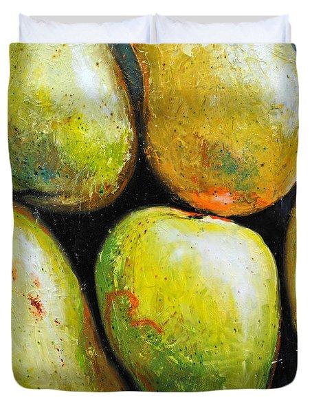 5 Mangos Duvet Cover