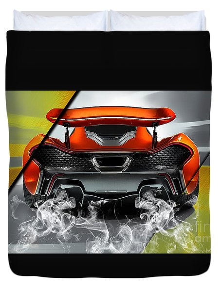 Mclaren P1 Collection Duvet Cover by Marvin Blaine