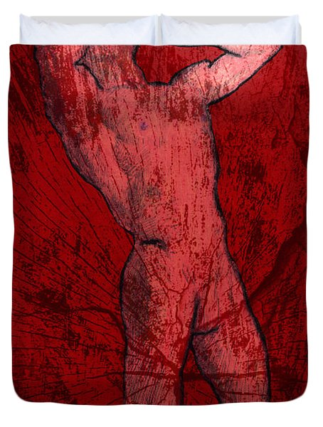 Nude Man Duvet Cover