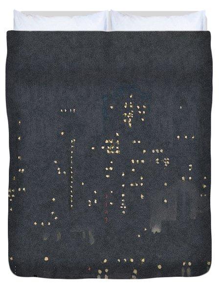 Pennell, New York City.  Duvet Cover