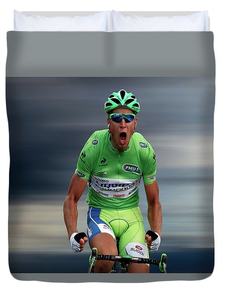 Peter Sagan 5 Duvet Cover