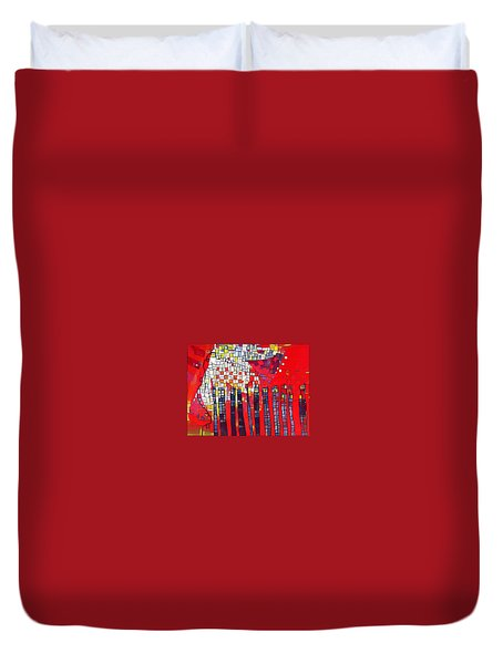Red Series 4 Duvet Cover