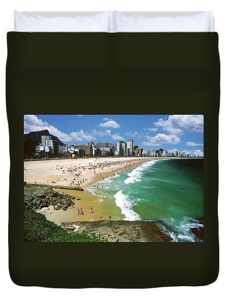 Rio De Janeiro, Brazil Duvet Cover