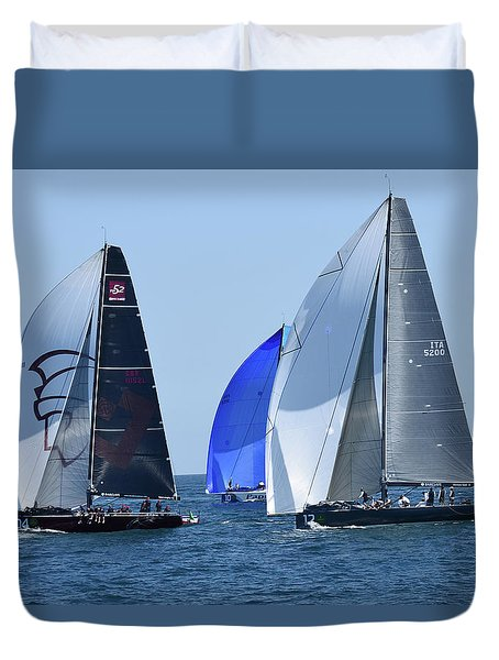 Rolex Capri Sailing Week 2014 Duvet Cover