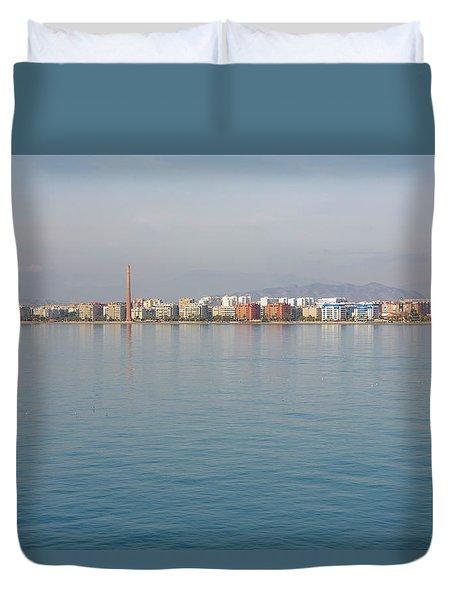 Shoreline Reflections Duvet Cover