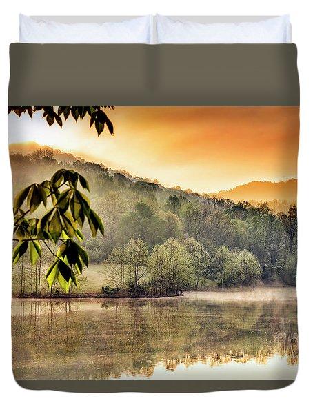 Stonewall Resort Sunrise Duvet Cover by Thomas R Fletcher