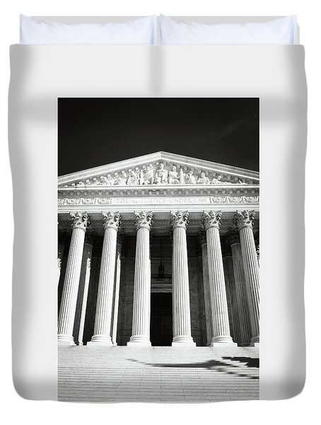 Supreme Court Of The United States Of America Duvet Cover