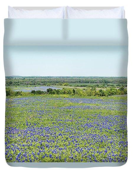 Texas Bluebonnets 10 Duvet Cover