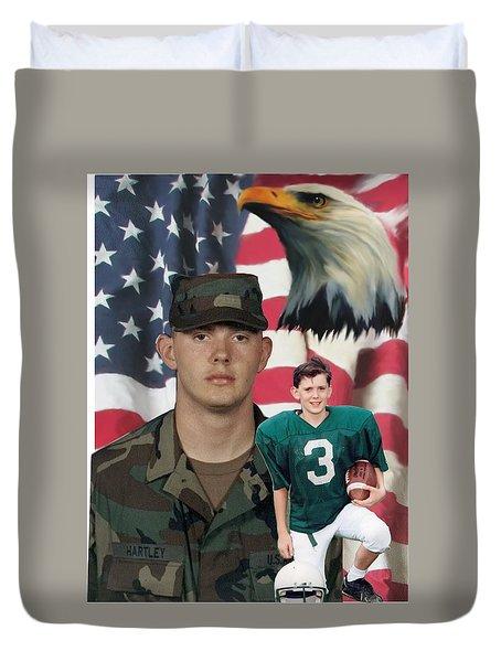Texas Hero Duvet Cover