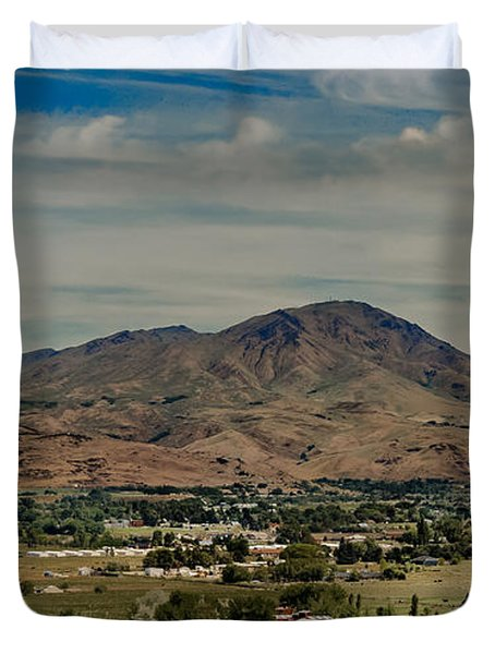 The Butte Duvet Cover by Robert Bales