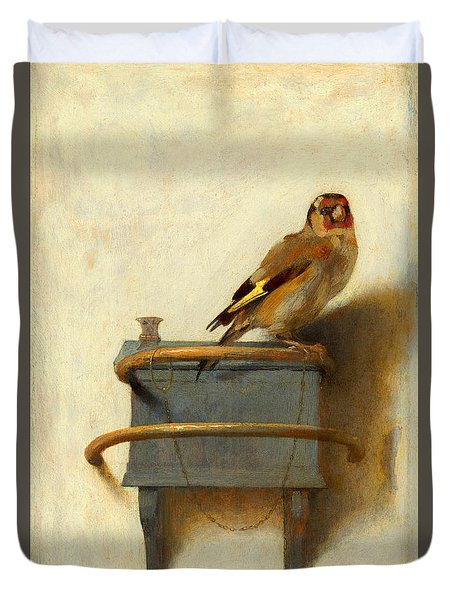 The Goldfinch Duvet Cover