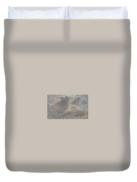 Title Cloud Study Duvet Cover