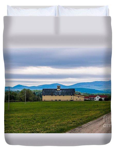 Vermont Dairy Farm Duvet Cover