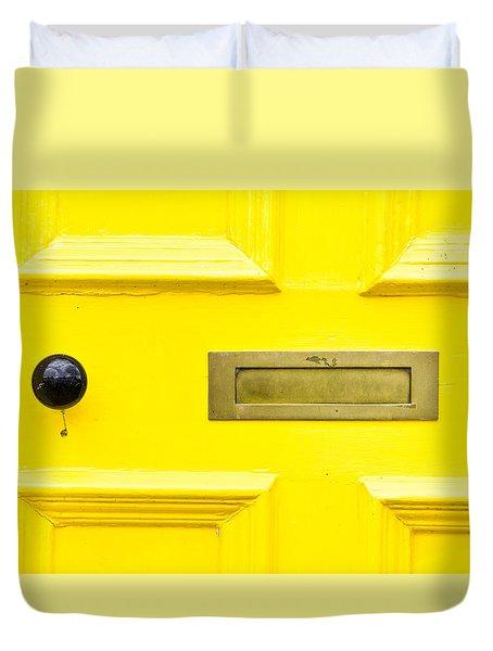 Yellow Door Duvet Cover