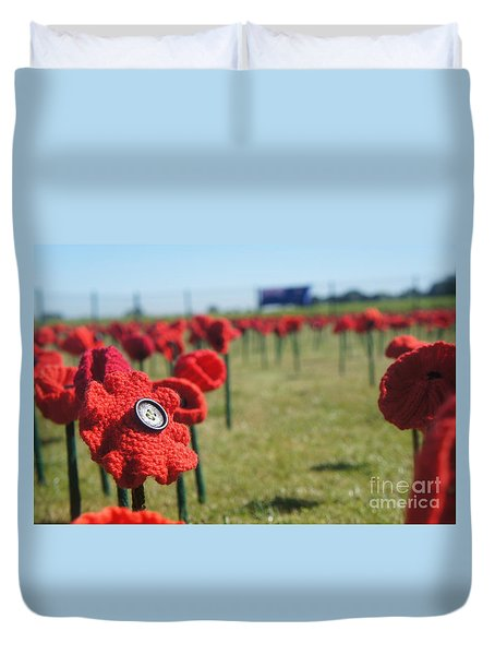 5000 Poppies Duvet Cover