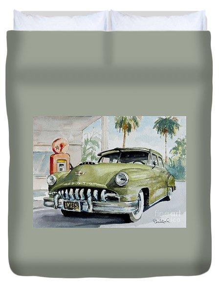 '52 Desoto Duvet Cover
