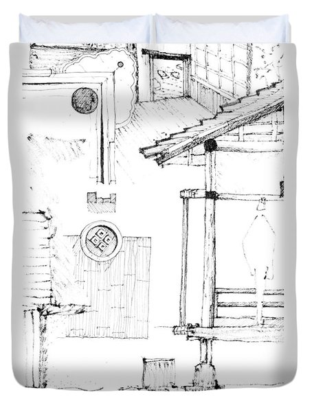 5.20.japan-4-detail-d Duvet Cover