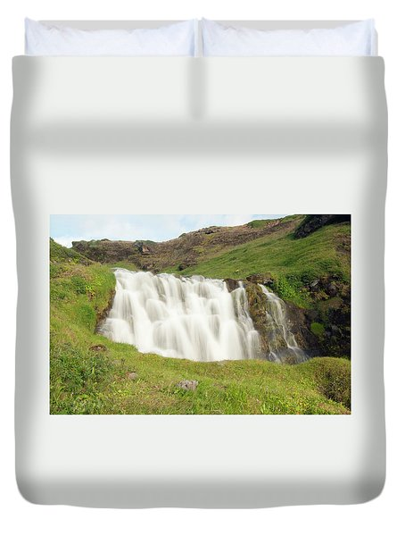 Untitled Duvet Cover by Kathy Schumann
