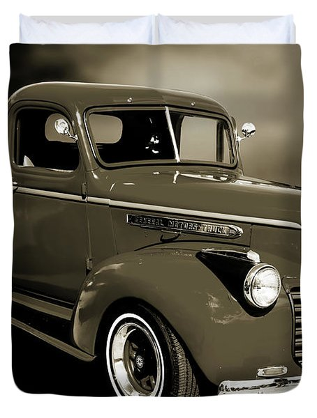 5514.04 1946 Gmc Pickup Truck Duvet Cover by M K  Miller