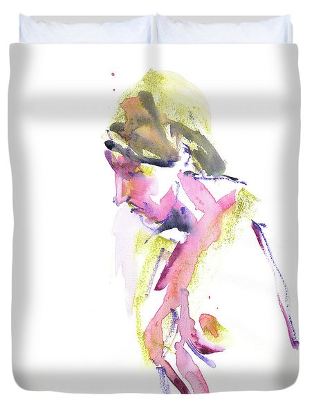 Duvet Cover featuring the mixed media Rcnpaintings.com by Chris N Rohrbach