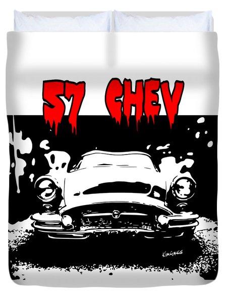 57 Chev Duvet Cover