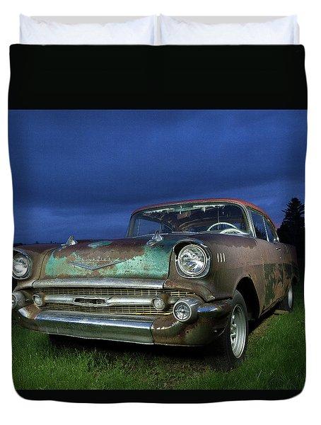 57' Chevrolet Duvet Cover