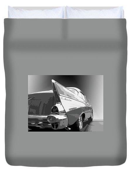 57 Chevy Duvet Cover