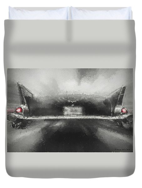 57' Chevy Mood Duvet Cover