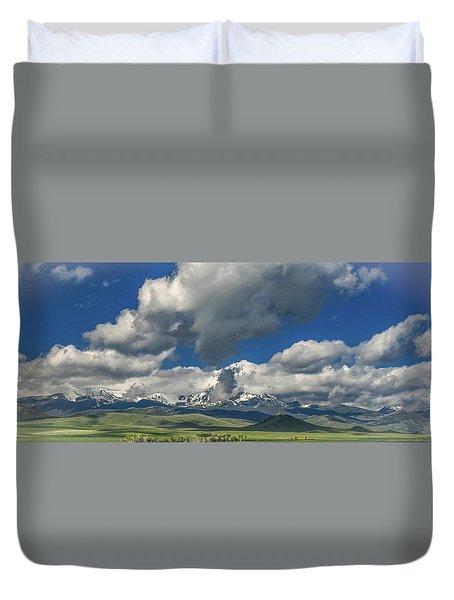 #5773 - Southwest Montana Duvet Cover