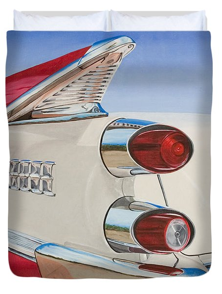 59 Dodge Royal Lancer Duvet Cover