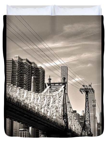 59th Street Bridge No. 4-1 Duvet Cover