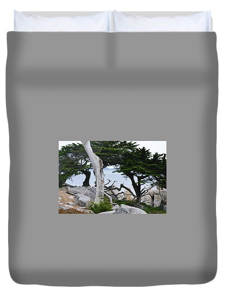 17- Mile Drive Duvet Cover