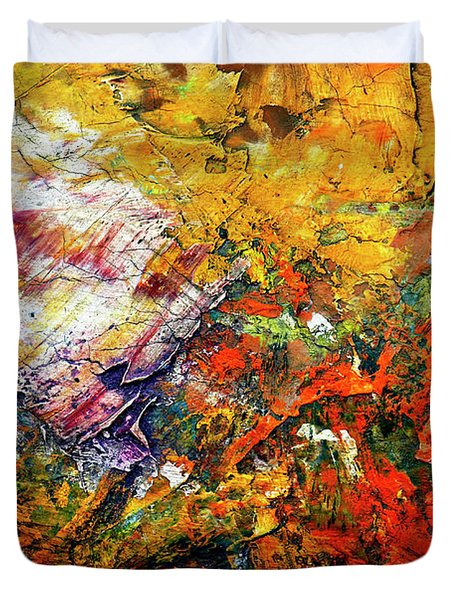 Abstract Duvet Cover by Michal Boubin