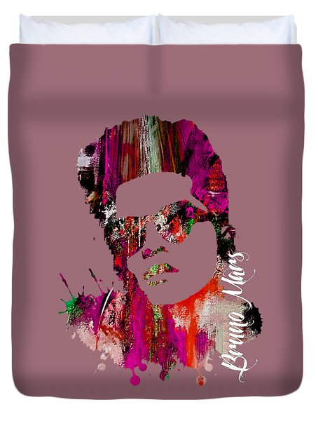 Bruno Mars Collection Duvet Cover