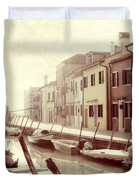 Burano Duvet Cover by Joana Kruse