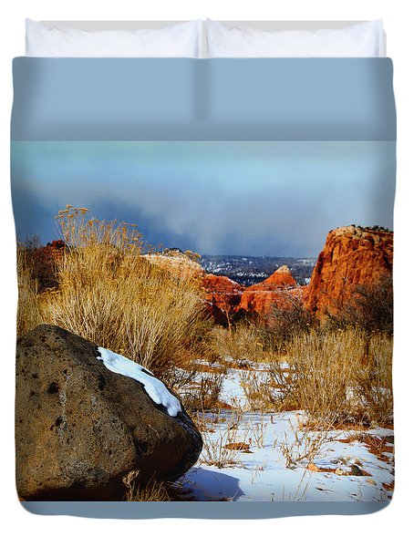 Captiol Reef National Park  Duvet Cover