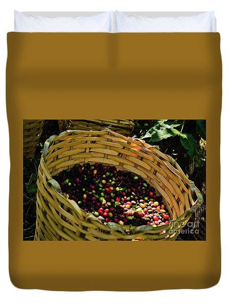 Coffee Culture In Sao Paulo - Brazil Duvet Cover