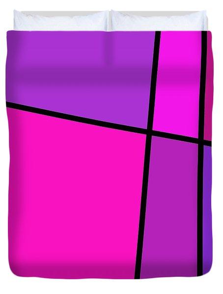6 Color Study Duvet Cover