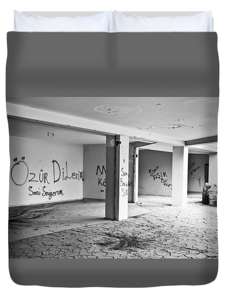 Derelict Building Duvet Cover