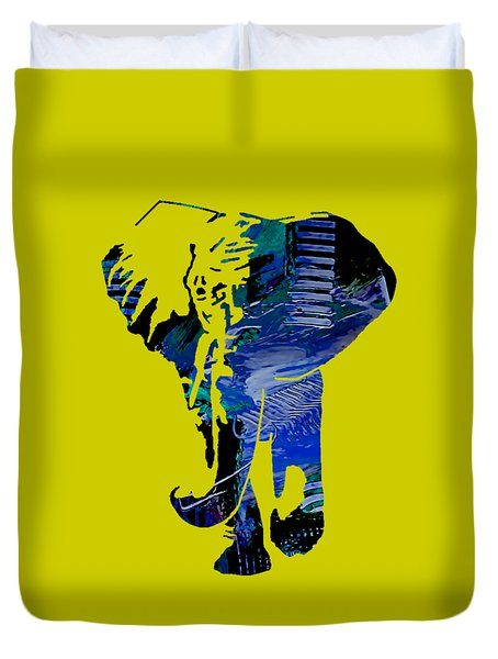 Elephant Collection Duvet Cover