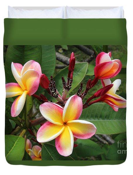 Flowers Duvet Cover by Anthony Jones