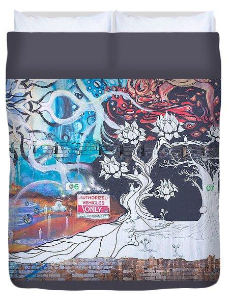 Freak Alley Boise Duvet Cover