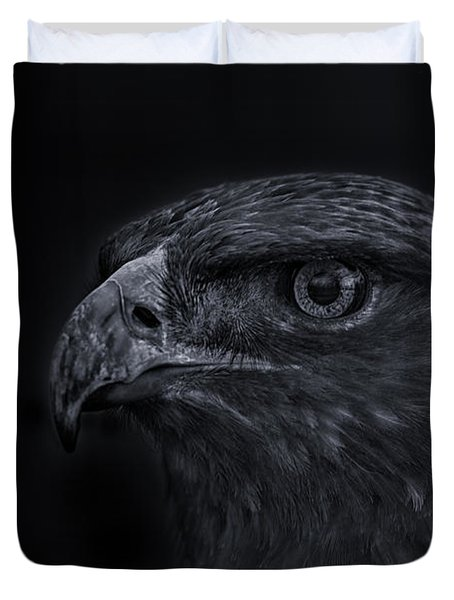 Golden Eagle  Duvet Cover by Brian Cross