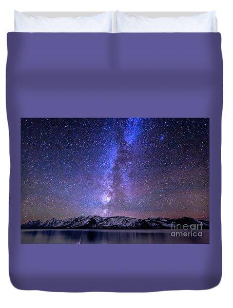 Grand Teton National Park Duvet Cover