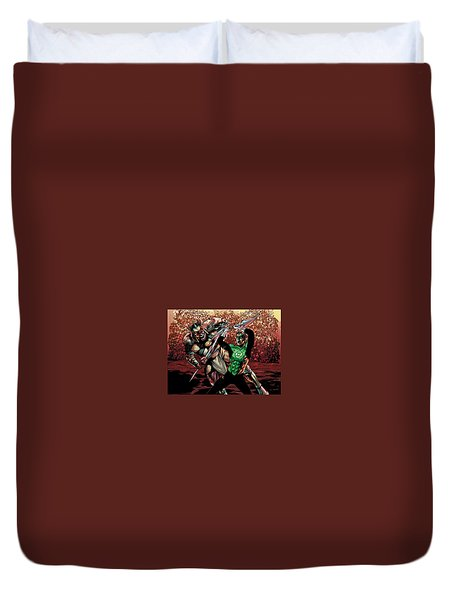 Green Lantern Duvet Cover