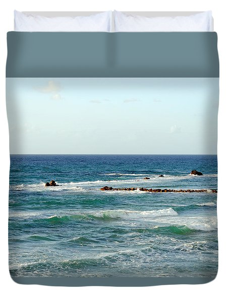 Jaffa Beach 4 Duvet Cover