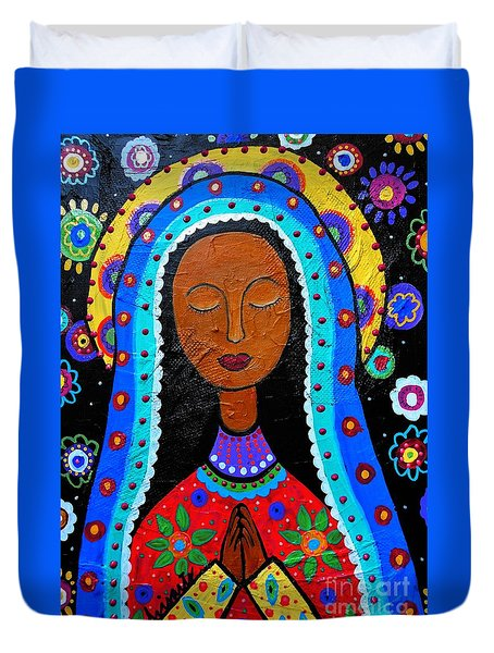 Our Lady Of Guadalupe Duvet Cover