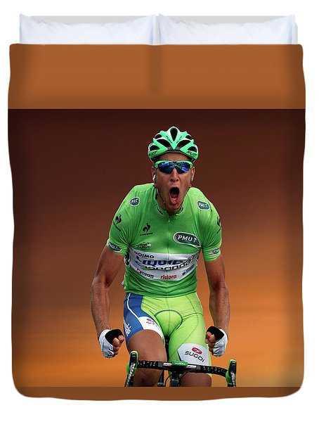 Peter Sagan 6 Duvet Cover