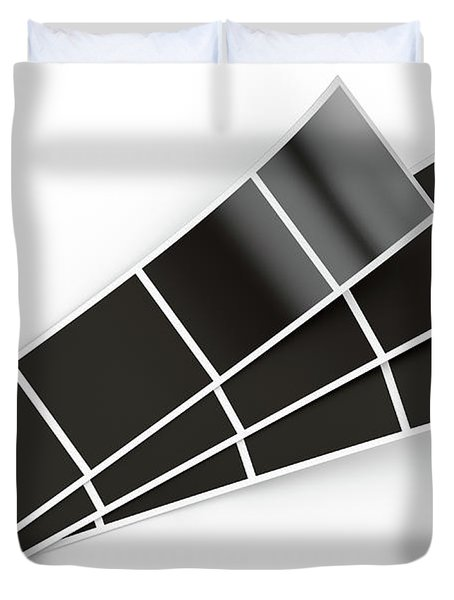 Photo Booth Picture Strip Duvet Cover