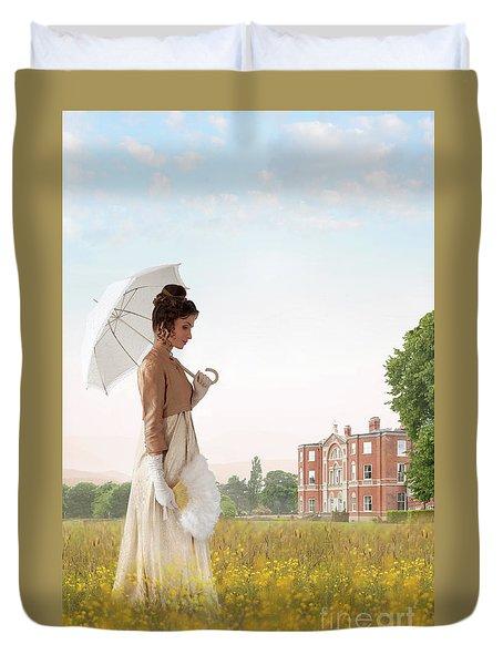 Regency Woman Duvet Cover